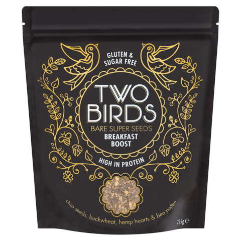 Two Birds Bare Super Seeds Breakfast Boost packet