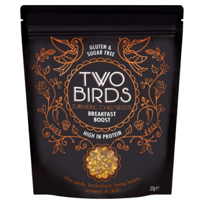 Two Birds Turmeric Chilli Seeds Breakfast Boost packet