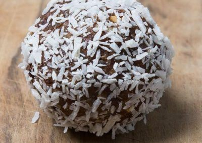 dates, almonds and super seed energy balls